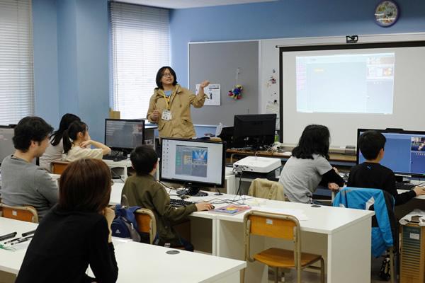 scratch day 2014 in koriyama わくわく プログラミングワーク